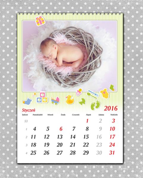 Foto kalendarz