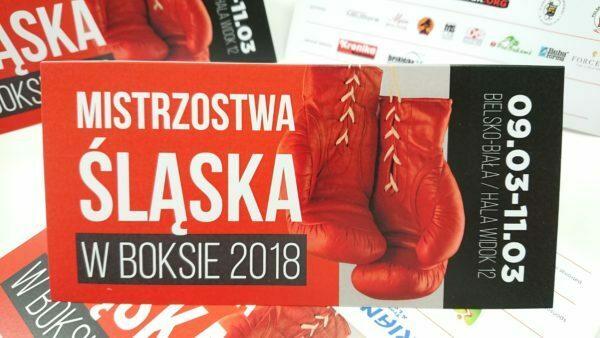 Zaproszenie na mistrzostwa Śląska W boksie 2018