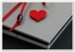 album na zdjęcia serce