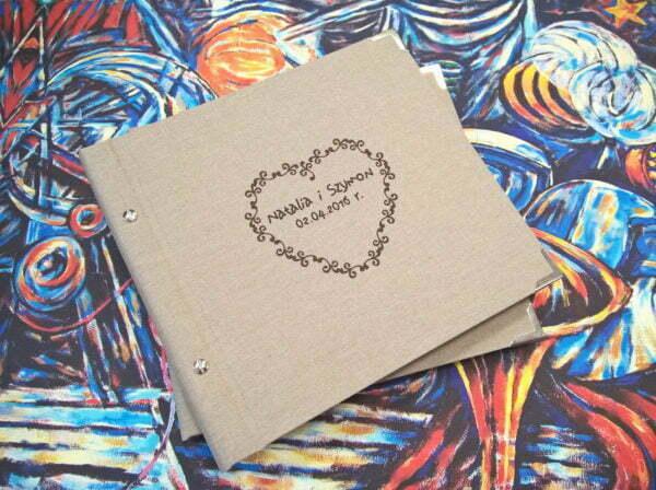 album - księga gości weselnych, wedding guest book