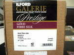 Ilford Gold Fibre Silk