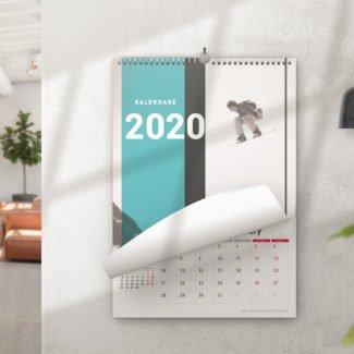 Kalendarz na spirali 2020