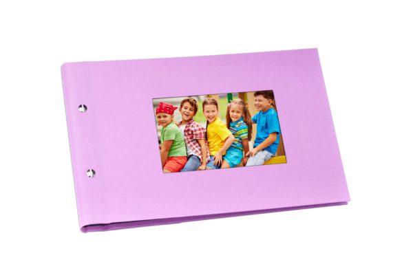 różowy album na zdjęcia 15x21