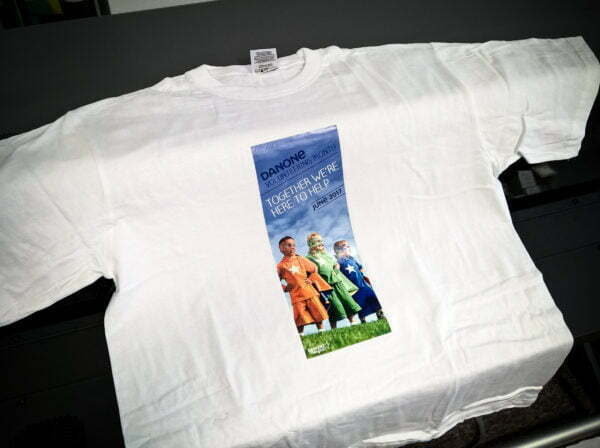 Koszulka firmowa z nadrukiem