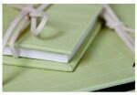 zielony album na zdjęcia