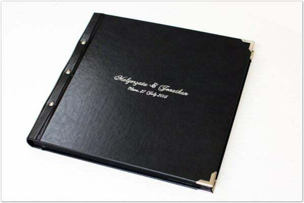 album skórzany z tłoczeniem